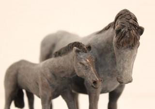 Dapple Horse and Foal (2)