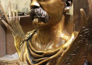 John Boyle O'Reilly Bust (3)
