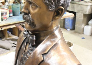John Boyle O'Reilly Bust No 2 (2)