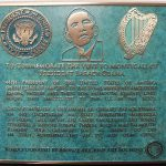 OBAMA PLAQUE Moneygall 450mm x 450mm
