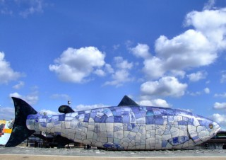 belfast-waterfront-fish-sculpture