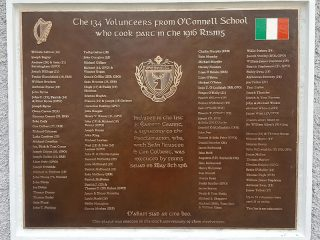 1 O'Connells School Plaque 5 ft x 4 ft