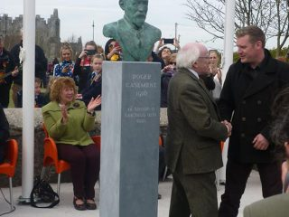 2 Roger Casement Bust by Joe Neeson at Ardfert Co Kerry