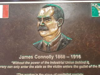 2 Unite James Connolly Plaque Abbey St