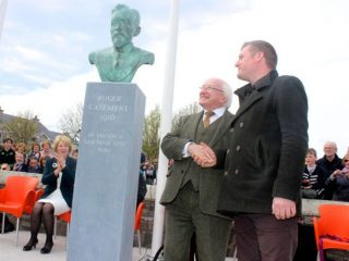 3 Roger Casement Bust by Joe Neeson at Ardfert Co Kerry