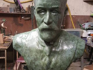 4 Roger Casement Bust by Joe Neeson at Ardfert Co Kerry